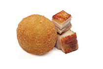 Croqueta de cochinillo