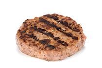 Hamburguesa de cerdo al Predo Ximénez